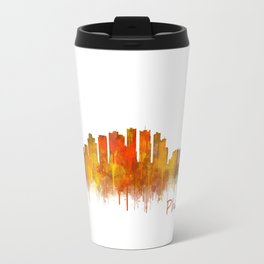 Phoenix Arizona, City Skyline Cityscape Hq v2 Travel Mug