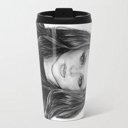 Jesy Nelson Drawing Travel Mug