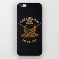 quidditch iPhone & iPod Skins featuring Ravenclaw quidditch team iPhone 4 4s 5 5c, ipod, ipad, pillow case, tshirt and mugs by Three Second