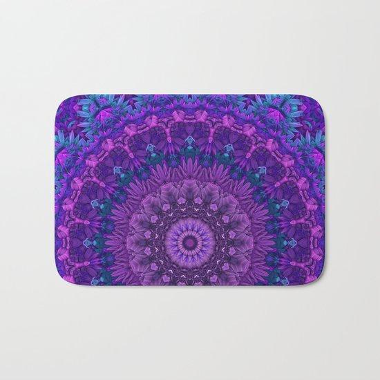 Harmony in Purple Bath Mat