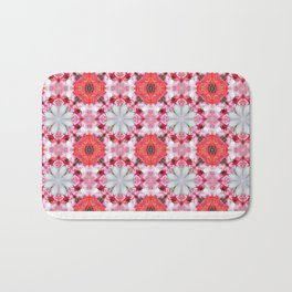 Poppy Pattern Bath Mat