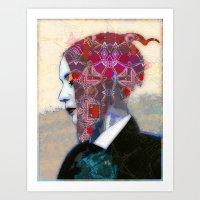 alt j Art Prints featuring Dream Alt by Steve W Schwartz Art