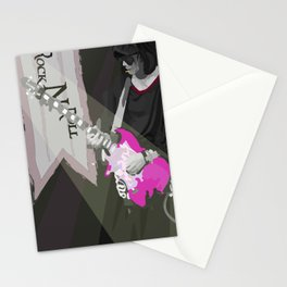 Rock N Roll Stationery Cards