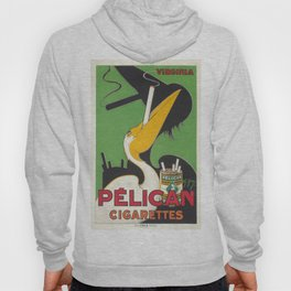 Vintage poster - Pelican Cigarettes Hoody
