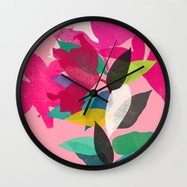 lily 18 Wall Clock