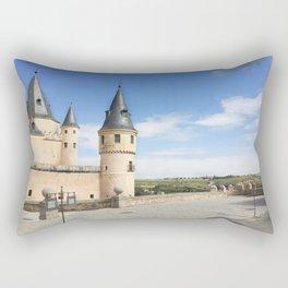 Alcazar de Segovia Rectangular Pillow