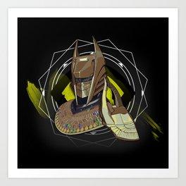 Soldier of Osiris Art Print