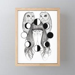 Moon Spells Framed Mini Art Print