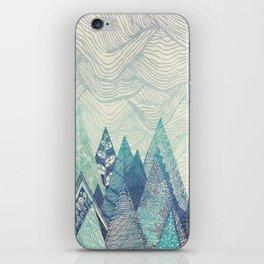 Mountain Crash iPhone Skin