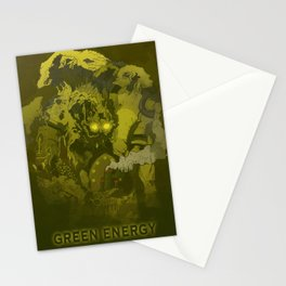 Green Energy Stationery Cards