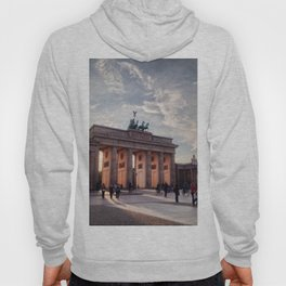 Brandenburg Gate in the Evening Hoody
