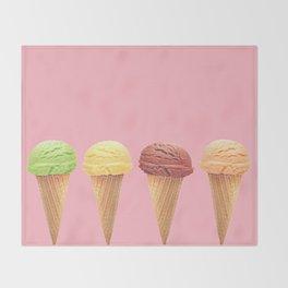 Frozen Flavors Throw Blanket