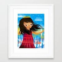 chelsea fc Framed Art Prints featuring Chelsea by dan elijah g. fajardo