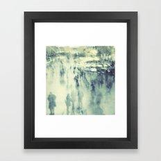 Ghosts of Grand Central Station Framed Art Print