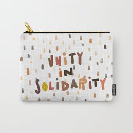 Unity in Solidarity Carry-All Pouch