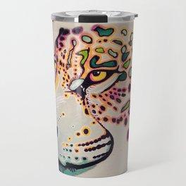 Fractal Jaguar Travel Mug