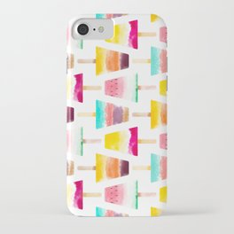 Summer Fun Ice Creams iPhone Case