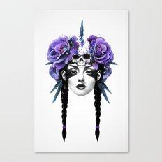 New Way Warrior Canvas Print
