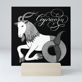 Capricorn Astrology Zodiac Mini Art Print