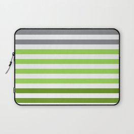 Stripes Gradient - Green Laptop Sleeve