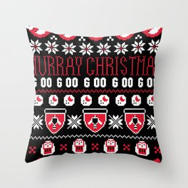 Murray Christmas Sweater Throw Pillow