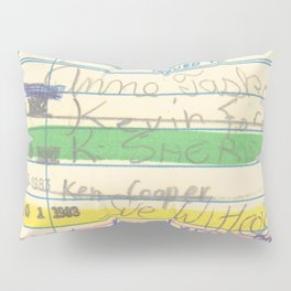 Library Card 3503 Exploring the Moon Pillow Sham