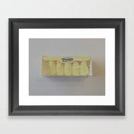 peeps. Framed Art Print