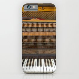 Vintage Old Piano 1 iPhone Case