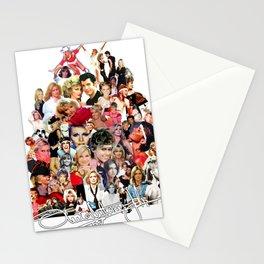 Evolution Of Olivia Newton-John Stationery Cards