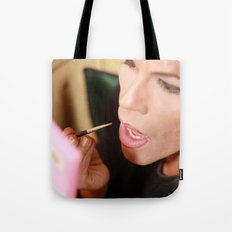 Doll-faced  Tote Bag