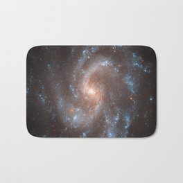 Spiral Galaxy in the Constellation Virgo Bath Mat