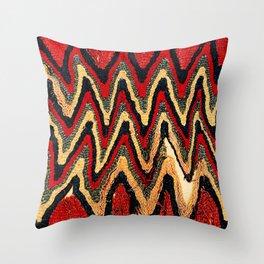 Ancient Peruvian Coca Bag Print Throw Pillow