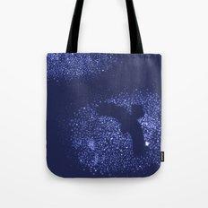 Starry Night Owl (dark blue) Tote Bag