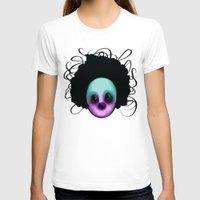 clown T-shirts featuring CLOWN by Andy Fairhurst Art