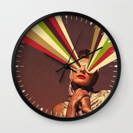 Rayguns Wall Clock