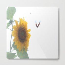 Butterflies on The Sun B Metal Print