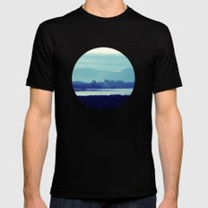 Ireland Blue SMALL Black Mens Fitted Tee