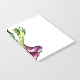 SPRING ONION PAINTING Notebook
