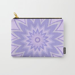 Lavender Star Flower Carry-All Pouch