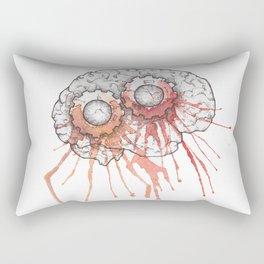 Stop thinking, just act Rectangular Pillow