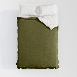 Textured dark olive. Comforters