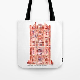 Hawa Mahal – Palace of the Winds in Jaipur, India Tote Bag