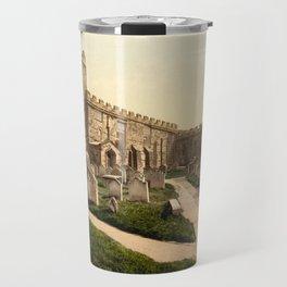 Whitby, St. Mary's Church, Yorkshire, England Travel Mug