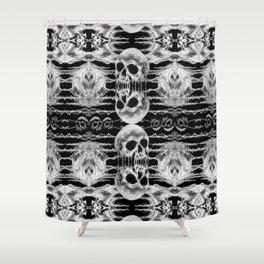 Freak Skull Pattern Shower Curtain