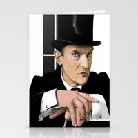 sherlock holmes Stationery Cards featuring Sherlock Holmes by Andy Harrison