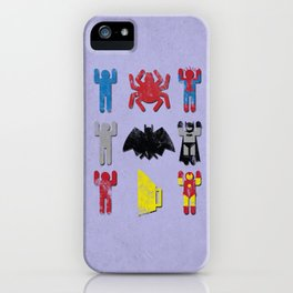 Super Heroic Minimalism Remix iPhone Case