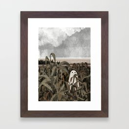 There's A Ghost in the Cornfield Again Framed Art Print