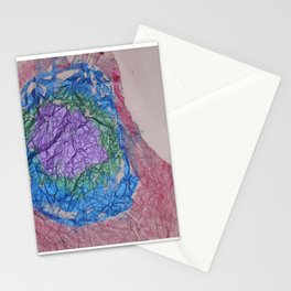 2nd in series of drawn to colors Stationery Cards