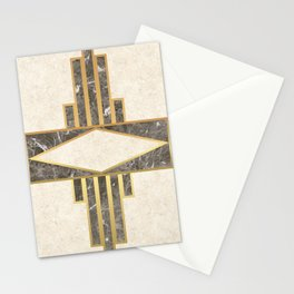 Luxurious gold and marble Stationery Cards