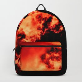 Anger / All red Backpack